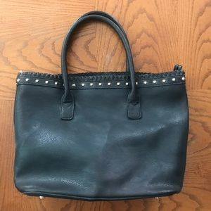 Handbags - Black vegan leather tote